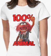 Muppets 100 Animal oder Geburtstagsgeschenk Women's Fitted T-Shirt