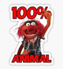 Muppets 100 Animal oder Geburtstagsgeschenk Sticker