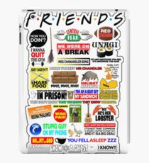 Friends TV Sayings iPad Case/Skin