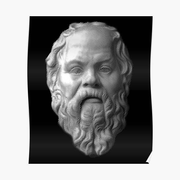 Socrates,     philosopher  Poster