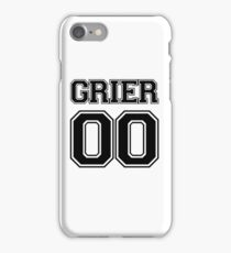 Hayes Grier Jersey iPhone Case/Skin