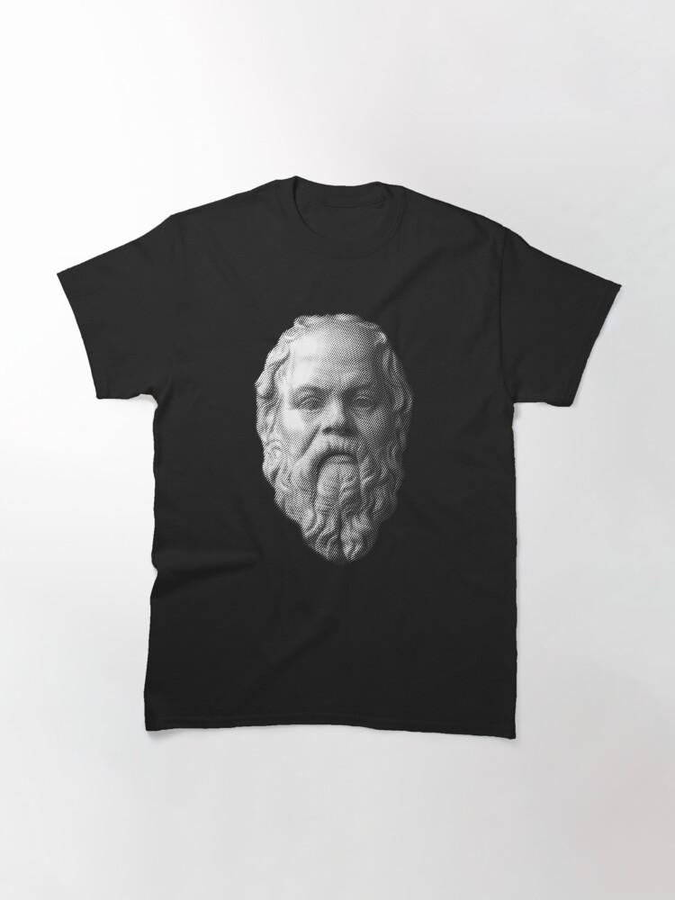 Alternate view of Socrates,     philosopher  Classic T-Shirt
