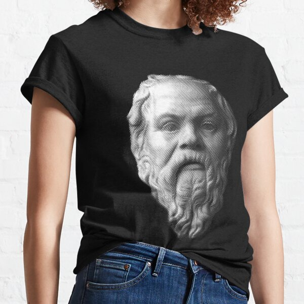 Socrates,     philosopher  Classic T-Shirt