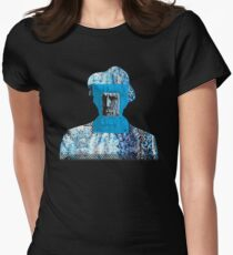 blue valentine (reworked) Women's Fitted T-Shirt