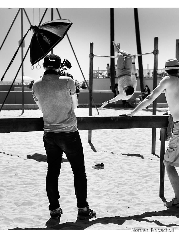 B roll to the A roll - Venice Beach California USA by keystone
