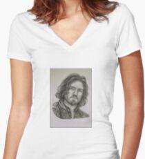 Athos T-shirt col V femme