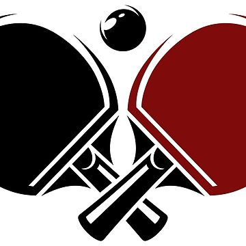Table tennis logos design by lovingangela