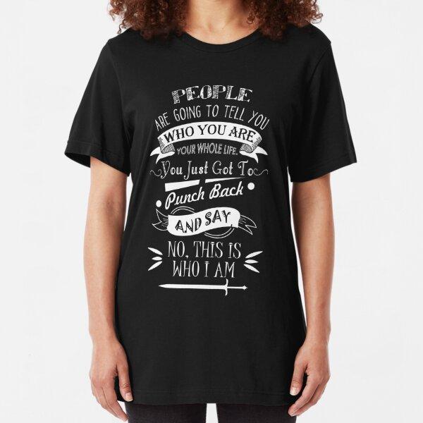 Emma Best Quote.  Slim Fit T-Shirt