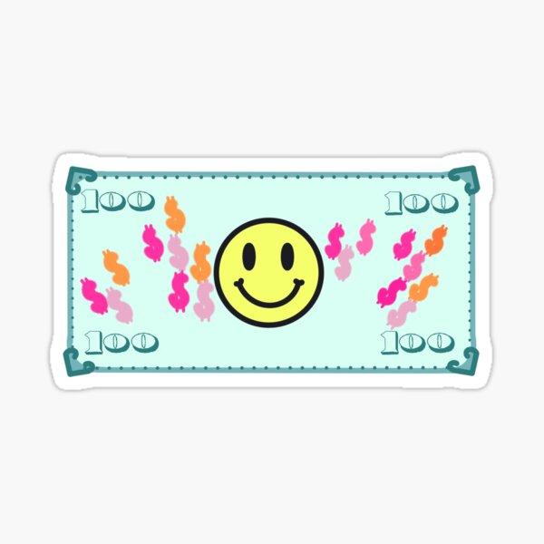 Smiley money Sticker