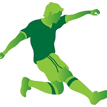 Green football player by lovingangela
