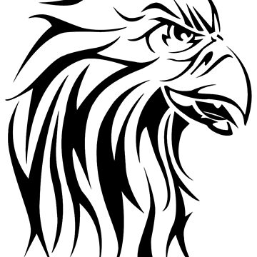 Eagle tattoo design by lovingangela