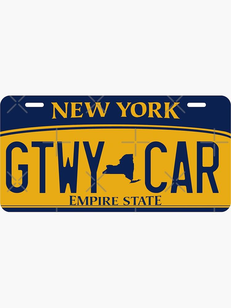 Getaway Car License Plate by taraliz24