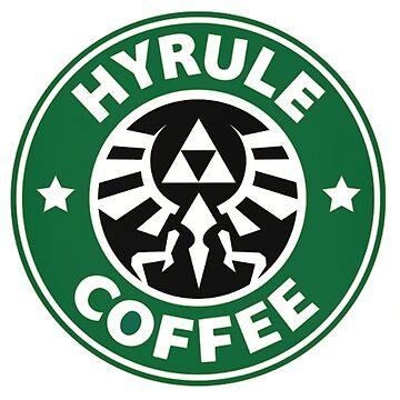 Hyrule zelda Coffee by Ringskulls