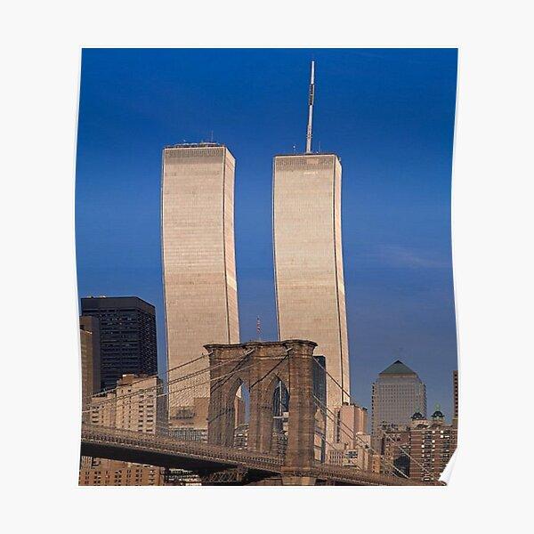 The Brooklyn Bridge // The Original World Trade Center Poster