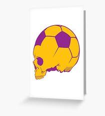 Sport death Greeting Card