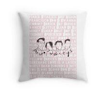 Arctic Monkeys - cushion song lyrics Throw Pillow