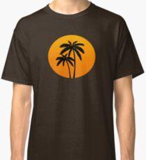 Palm Trees Sunset Classic T-Shirt