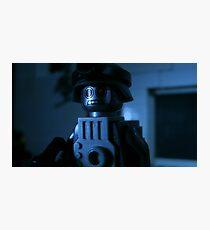 Lego Robot Soldier Photographic Print