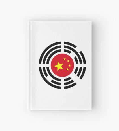 Korean Chinese Multinational Patriot Flag Series Hardcover Journal