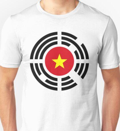 Korean Vietnamese Multinational Patriot Flag Series T-Shirt