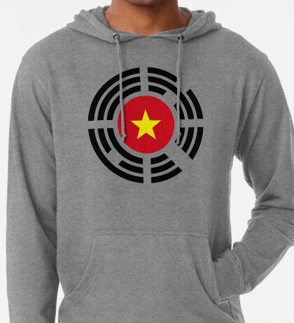 Korean Vietnamese Multinational Patriot Flag Series Lightweight Hoodie