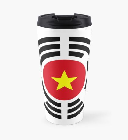 Korean Vietnamese Multinational Patriot Flag Series Travel Mug