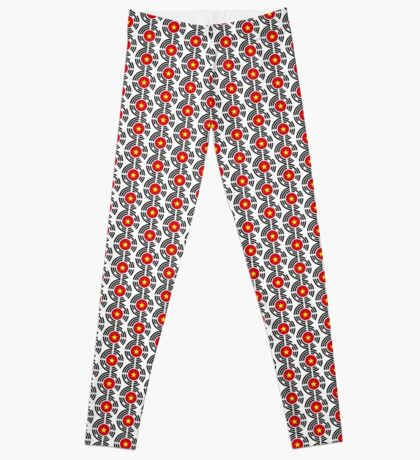 Korean Vietnamese Multinational Patriot Flag Series Leggings