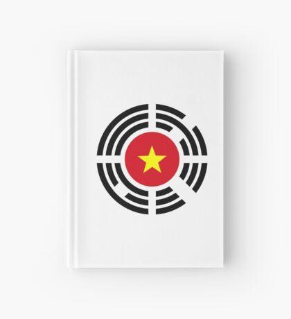 Korean Vietnamese Multinational Patriot Flag Series Hardcover Journal