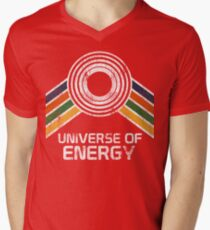 Universe of Energy Logo in Vintage Distressed Style T-Shirt