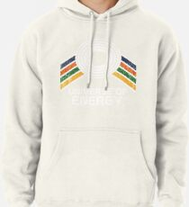 Universe of Energy Logo in Vintage Distressed Style Pullover Hoodie