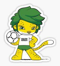 South Africa mascot zakumi Sticker