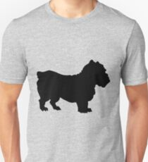 cute Bulldog silhouette T-Shirt