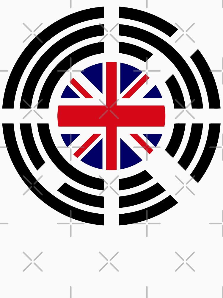 Korean Brit Multinational Patriot Flag Series by carbonfibreme