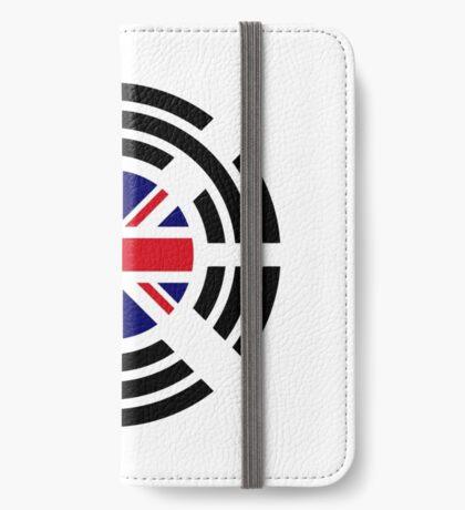 Korean Brit Multinational Patriot Flag Series iPhone Wallet