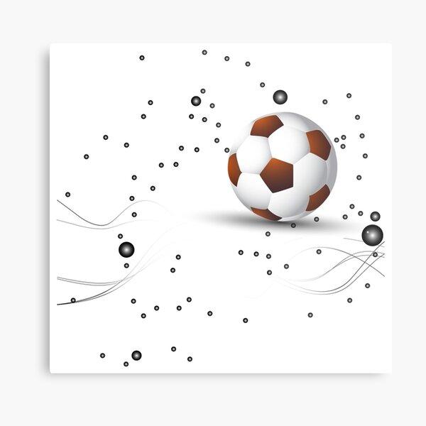 Football design Metal Print