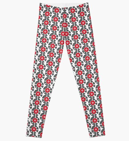 Korean Hong Kong Multinational Patriot Flag Series Leggings