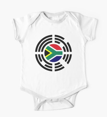 Korean South African Multinational Patriot Flag Series Kids Clothes