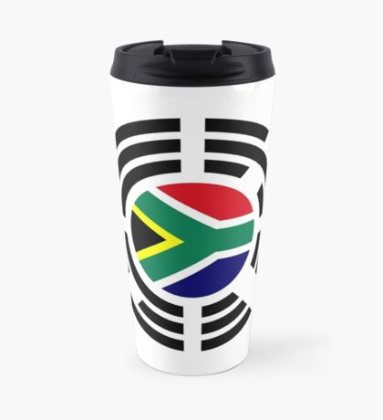 Korean South African Multinational Patriot Flag Series Travel Mug