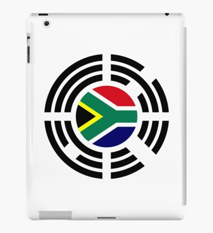 Korean South African Multinational Patriot Flag Series iPad Case/Skin