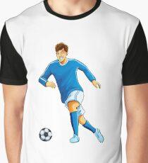 Italian player dribble a ball Graphic T-Shirt