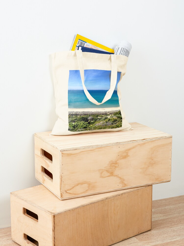 Alternate view of Summer Shades of Blue - Sardinia, Italy Tote Bag