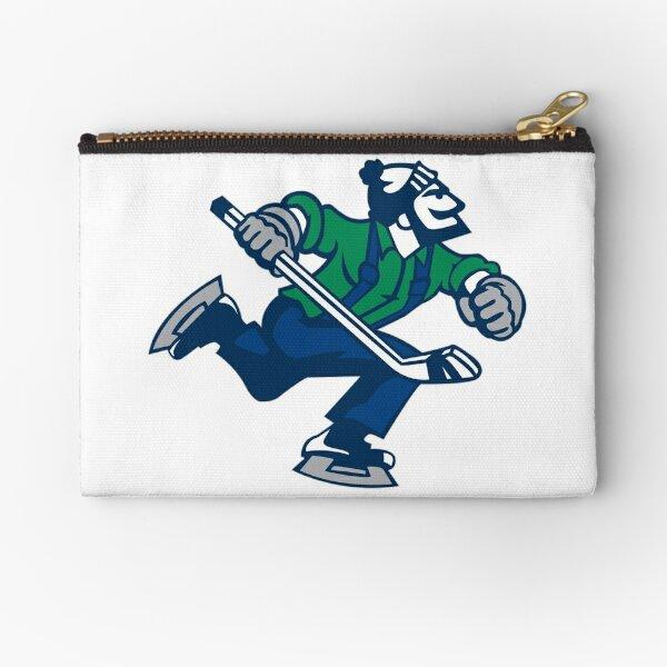 Ice hockey go canucks Zipper Pouch