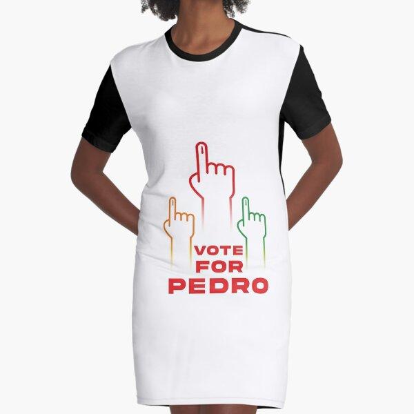 Election 2016 Sanders Vote for Bernie Pedro White-Black Men/'s Ringer T-Shirt