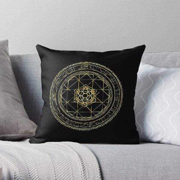 Doctor Strange Magic Circle Throw Pillow