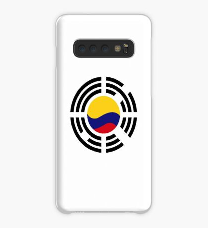 Korean Colombian Multinational Patriot Flag Series Case/Skin for Samsung Galaxy