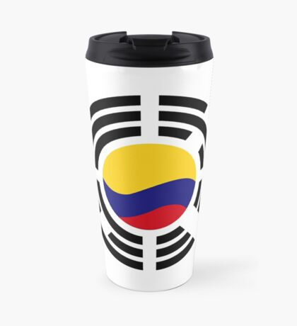 Korean Colombian Multinational Patriot Flag Series Travel Mug