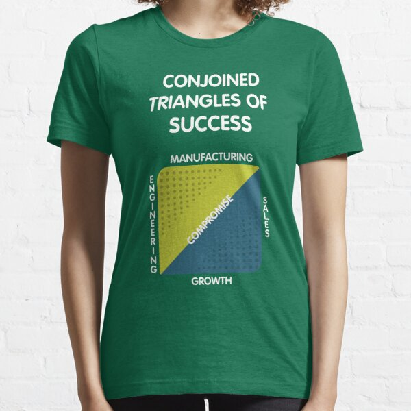 Conjoined Triangles of Success - Silicon Valley Essential T-Shirt