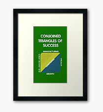 Conjoined Triangles of Success - Silicon Valley Framed Print