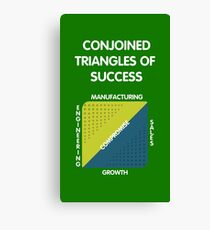 Conjoined Triangles of Success - Silicon Valley Canvas Print