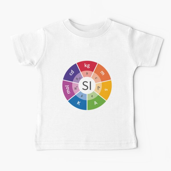 SI - International System of Units, System of measurement Baby T-Shirt
